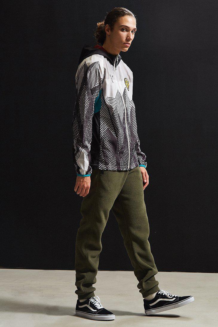 PUMA Synthetic X Daily Paper Windbreaker Jacket in Gray ...