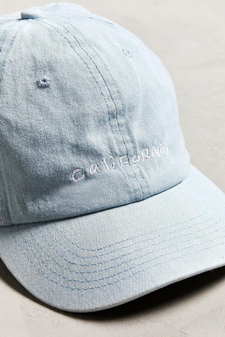 2bfe3e597eb Lyst - Urban Outfitters Diplo California Baseball Hat in Blue for Men