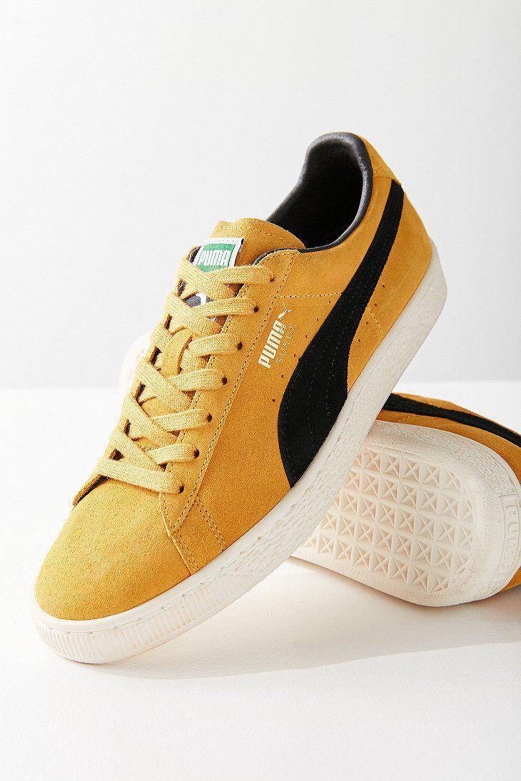 73d09bfcfbd Lyst - PUMA Puma Suede Classic Archive Sneaker in Yellow for Men