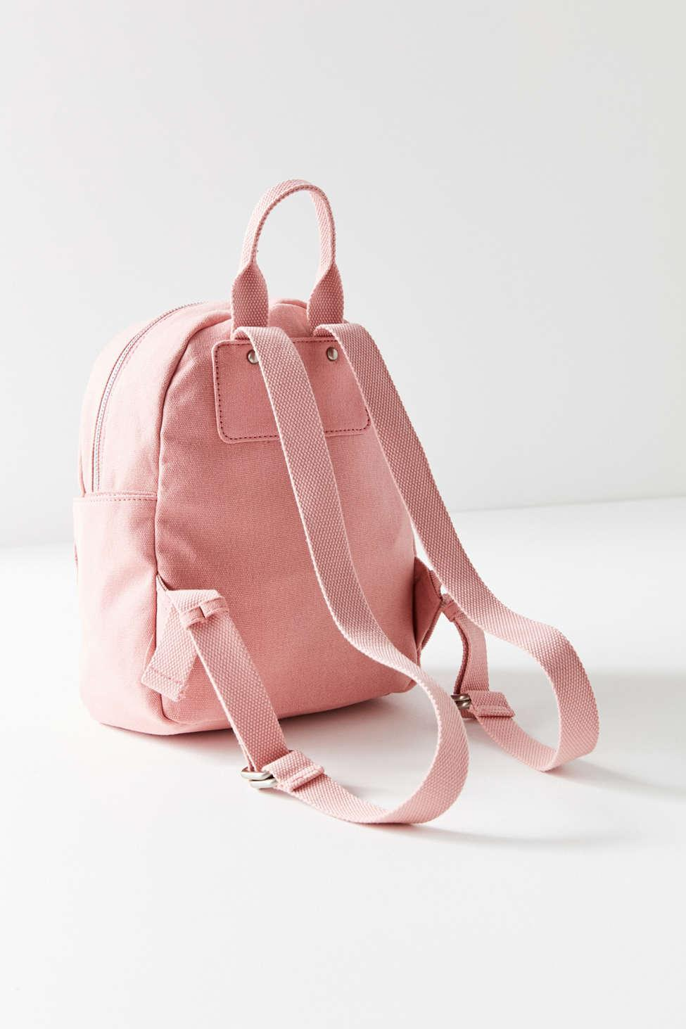 6eec45a34c93 Lyst - Urban Outfitters Classic Canvas Mini Backpack in Pink