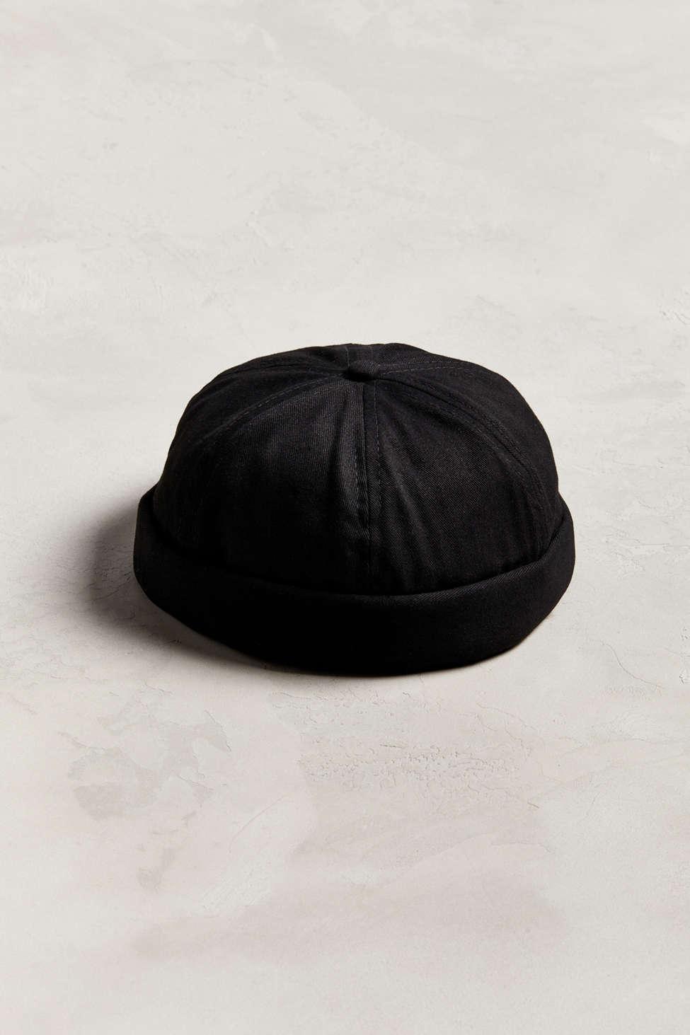 047bdd3c662 Lyst - Urban Outfitters Docker Hat in Black for Men