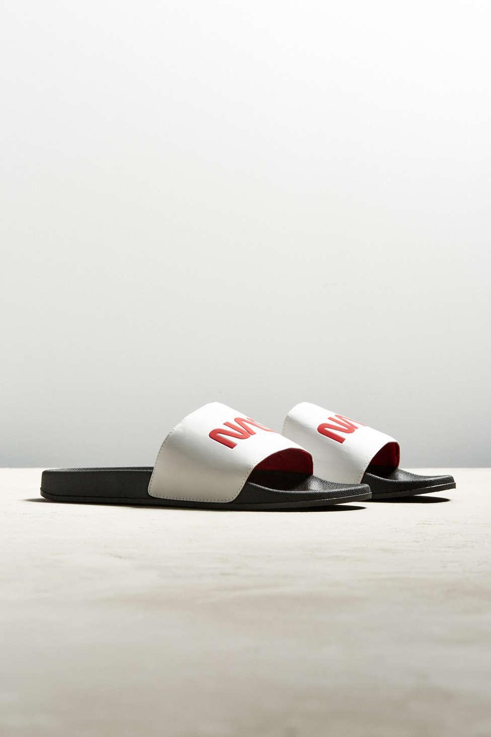 43a5e5e13 Lyst - Urban Outfitters Uo Nasa Slide Sandal in White for Men