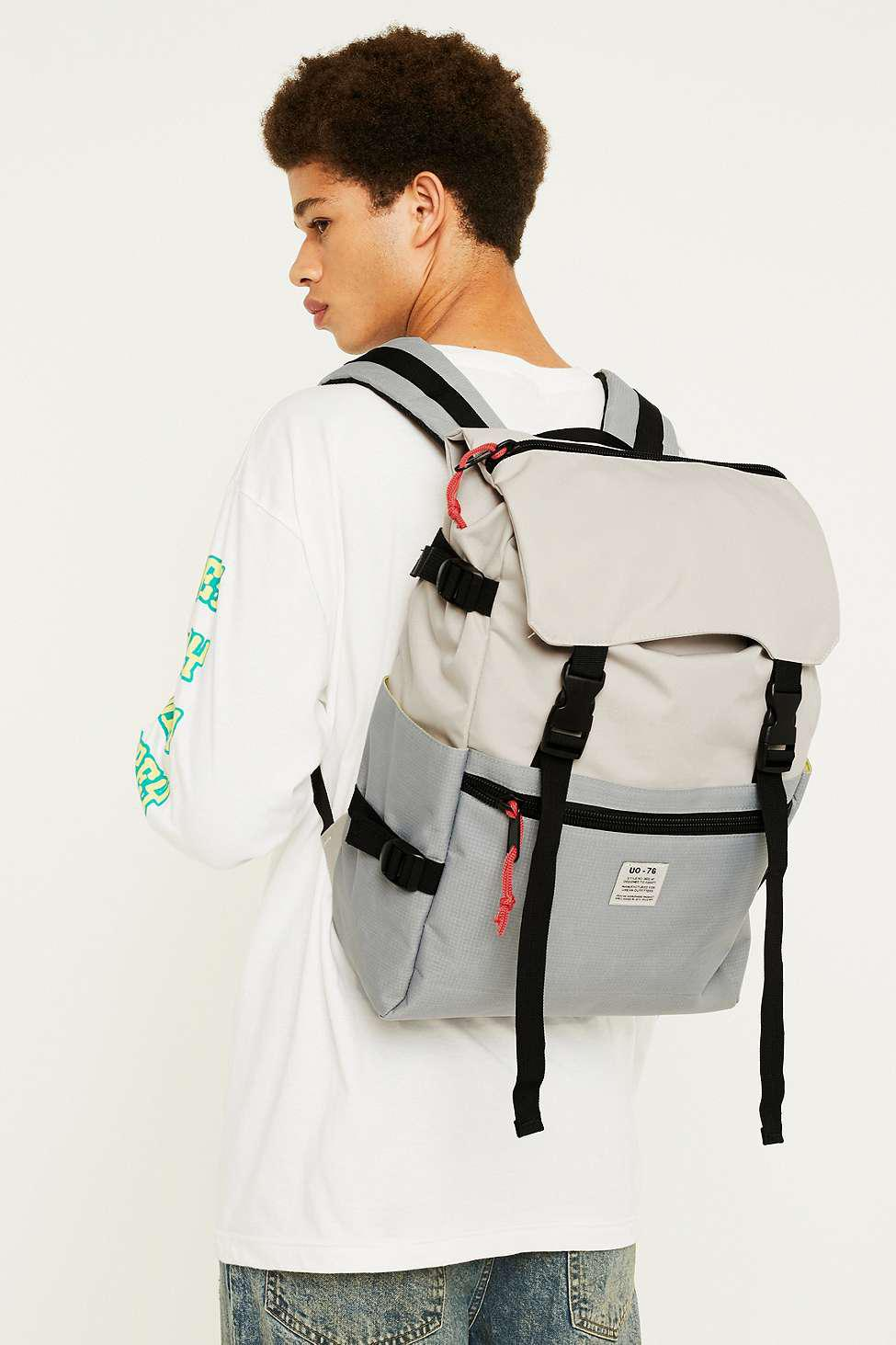154b20ccf95 Urban Outfitters Uo Outdoor Tonal Backpack - Mens All in Gray for ...