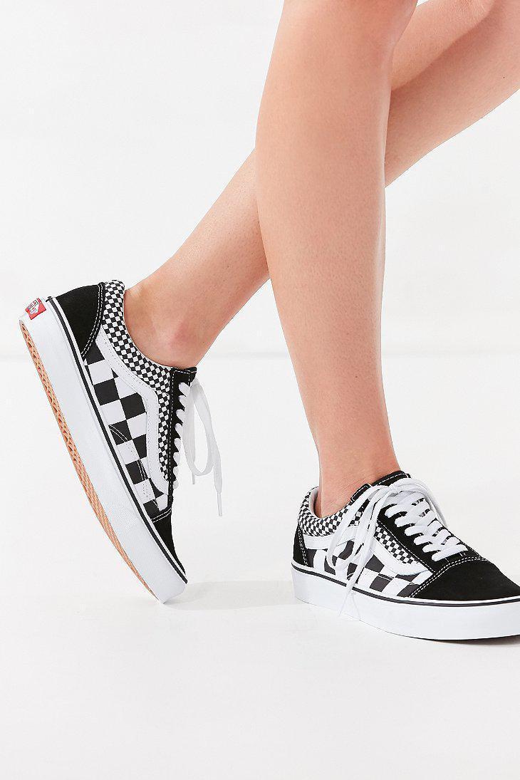 cb02dfba99 Lyst - Vans Vans Mix Checkerboard Old Skool Sneaker in Black