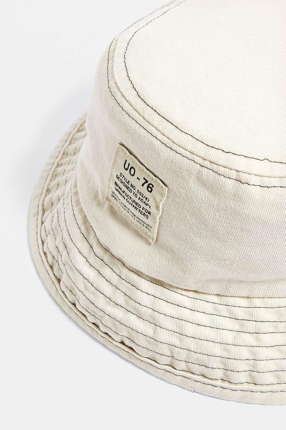 aad0d18269afd Urban Outfitters Uo Utility Bucket Hat in Natural - Lyst
