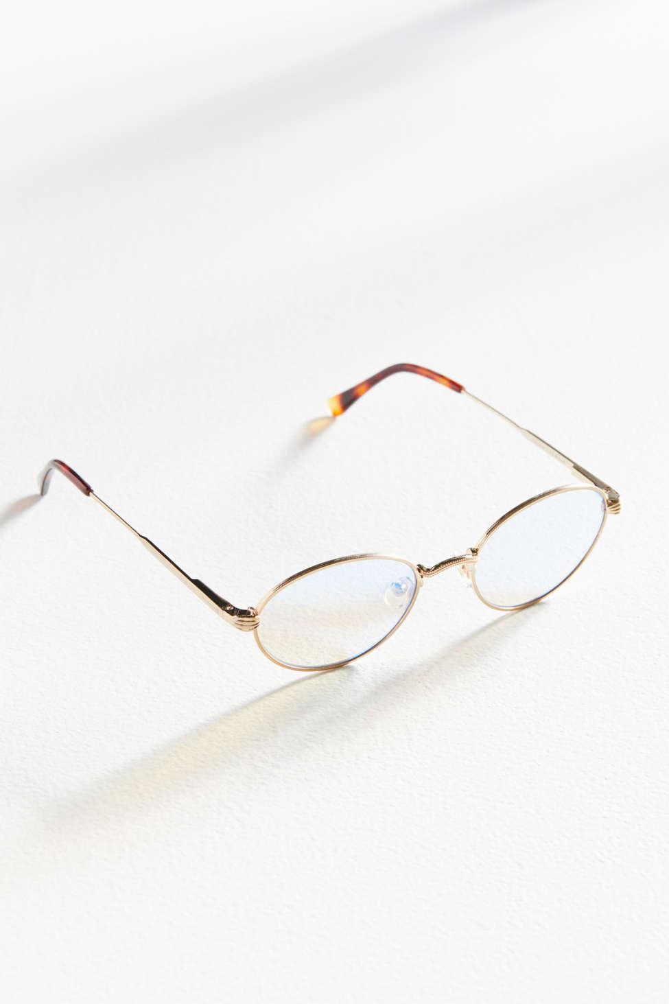 c0eb0845a65b ... Metallic Uo Exclusive The New Riddim Sunglasses - Lyst. View fullscreen