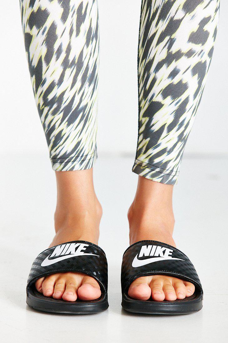 buy popular 63790 e3d5d Lyst - Nike Nike Benassi Jdi Slide in Black