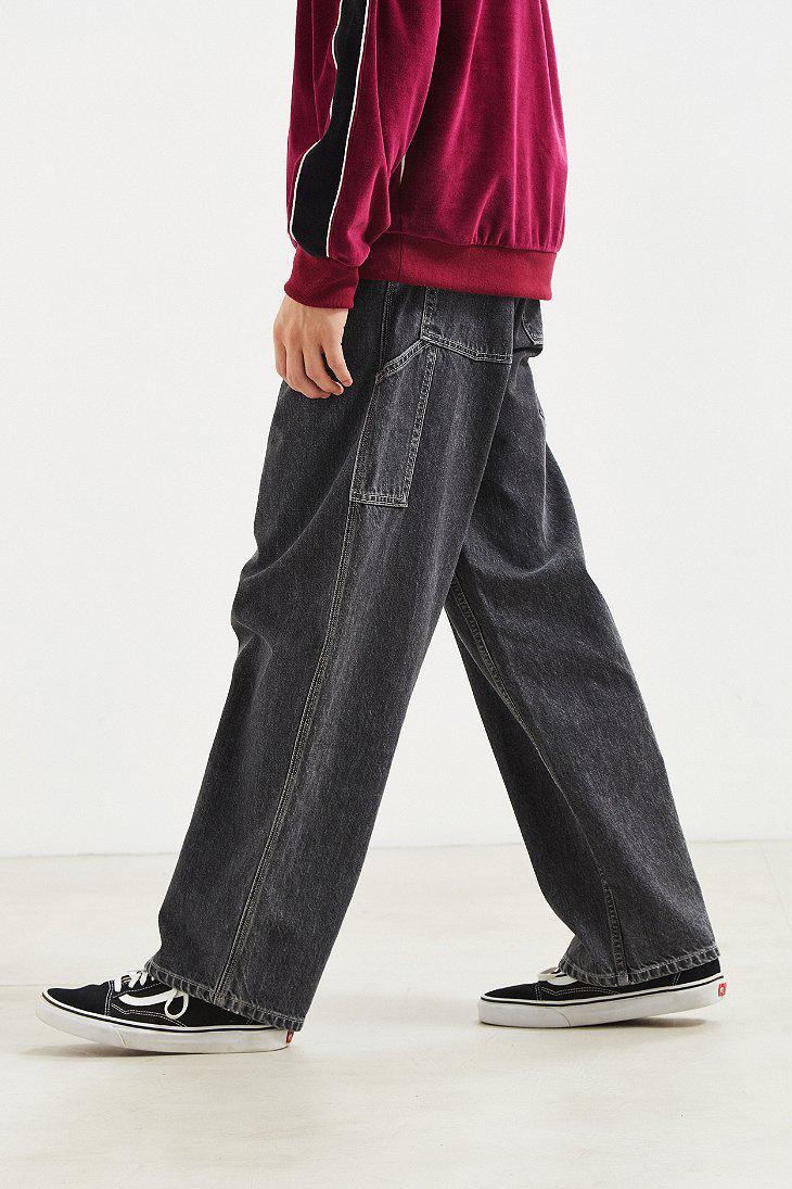 64525945 Levi's Levi's Silvertab Carpenter Baggy Jean in Black for Men - Lyst