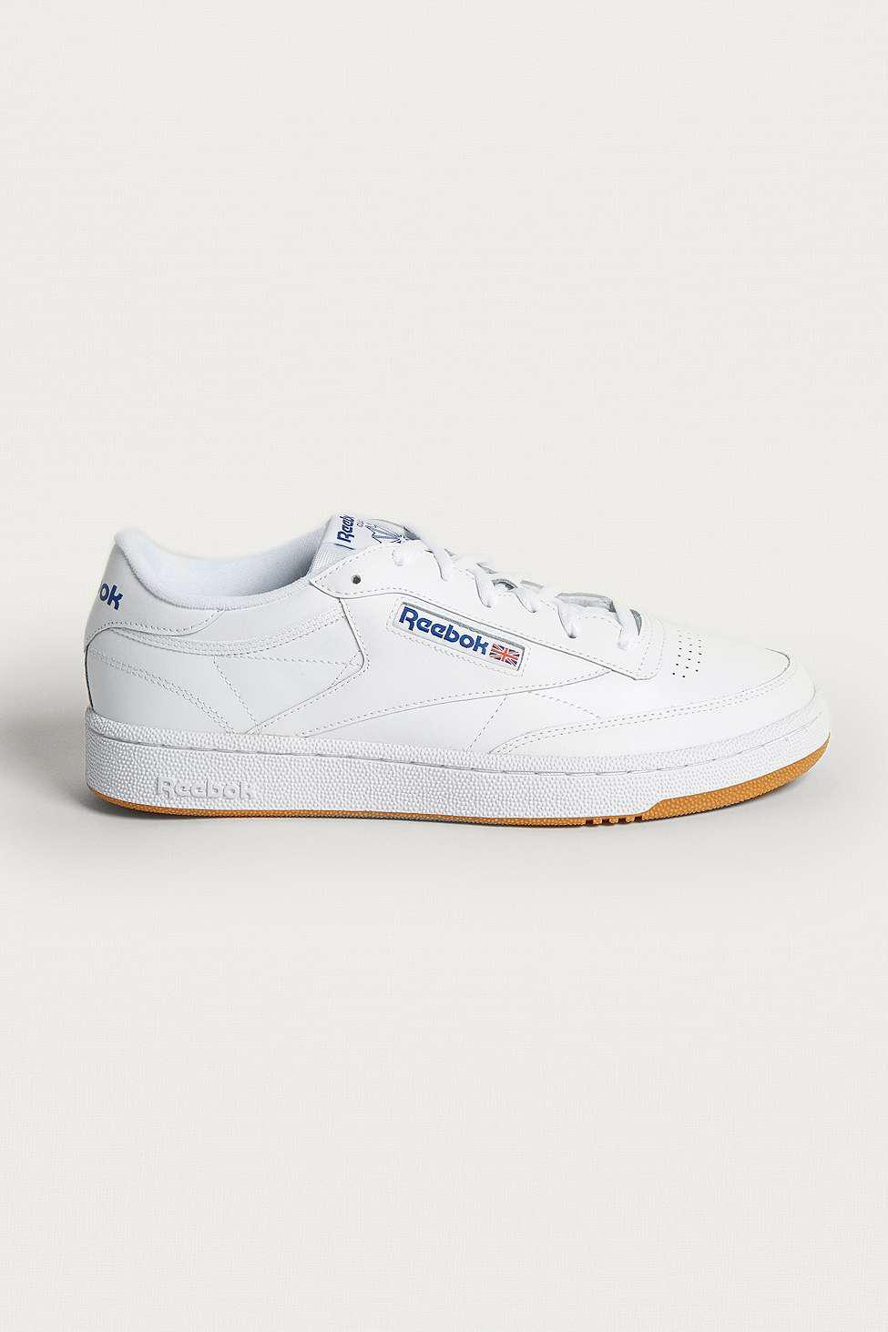 2f318ce35b86 Reebok Club C 85 White Trainers - Mens Uk 8 in White for Men - Lyst