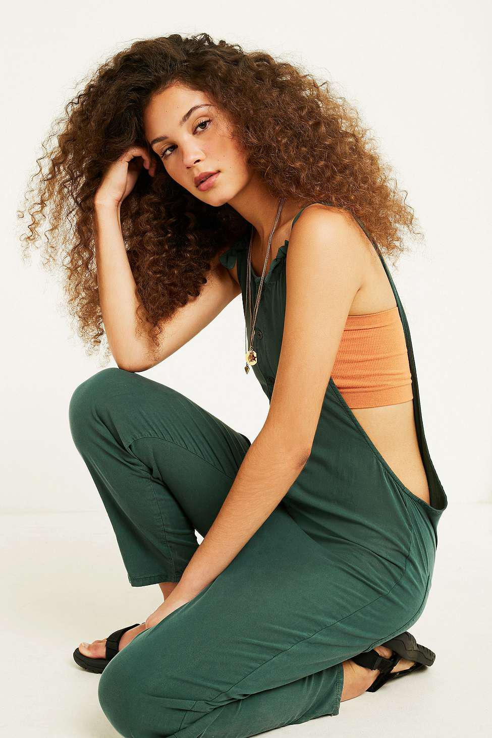e46a1ef6a2ad Urban Outfitters Uo Shauny Jumpsuit in Green - Lyst