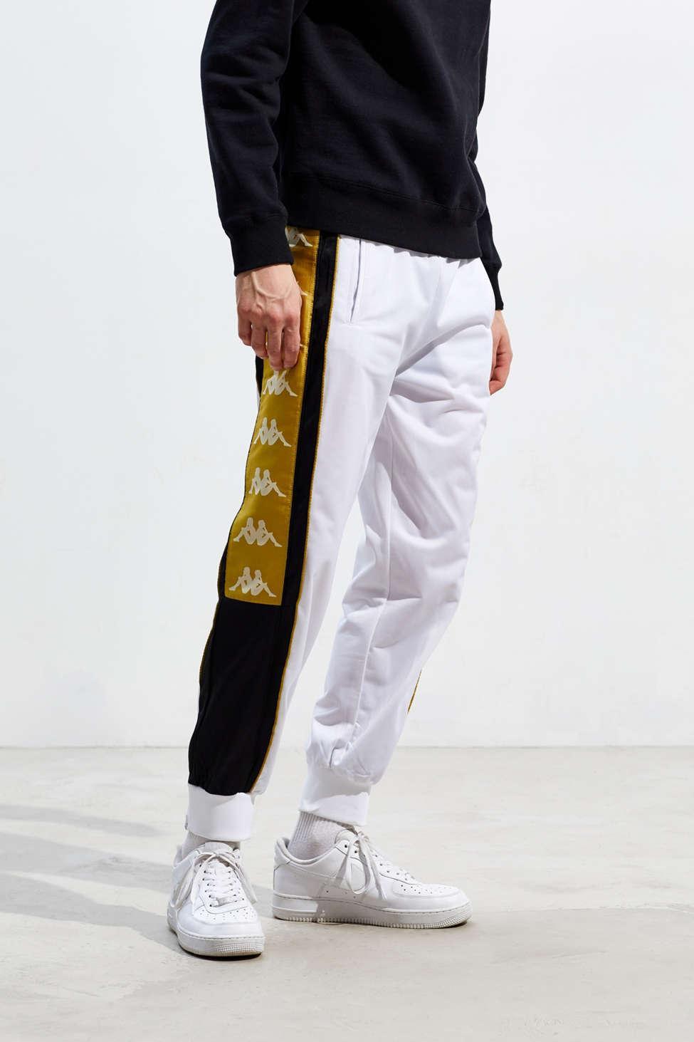 b4bb44678b Kappa Banda 10 Alan Track Pant in White for Men - Lyst