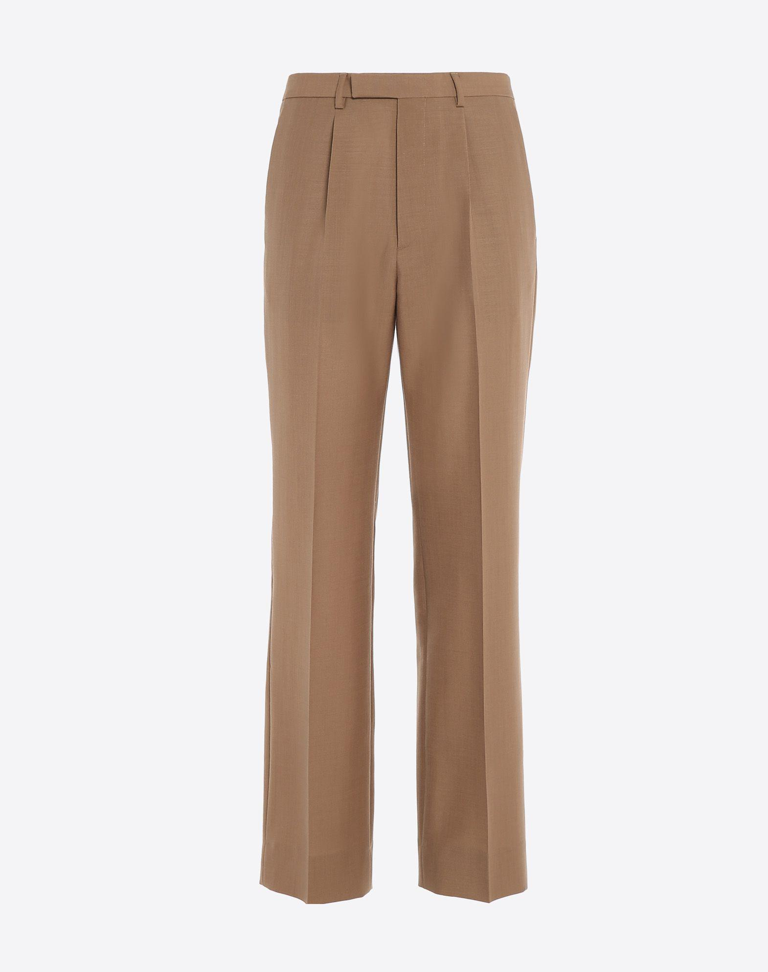 Valentino Formal Pants In Brown For Men | Lyst