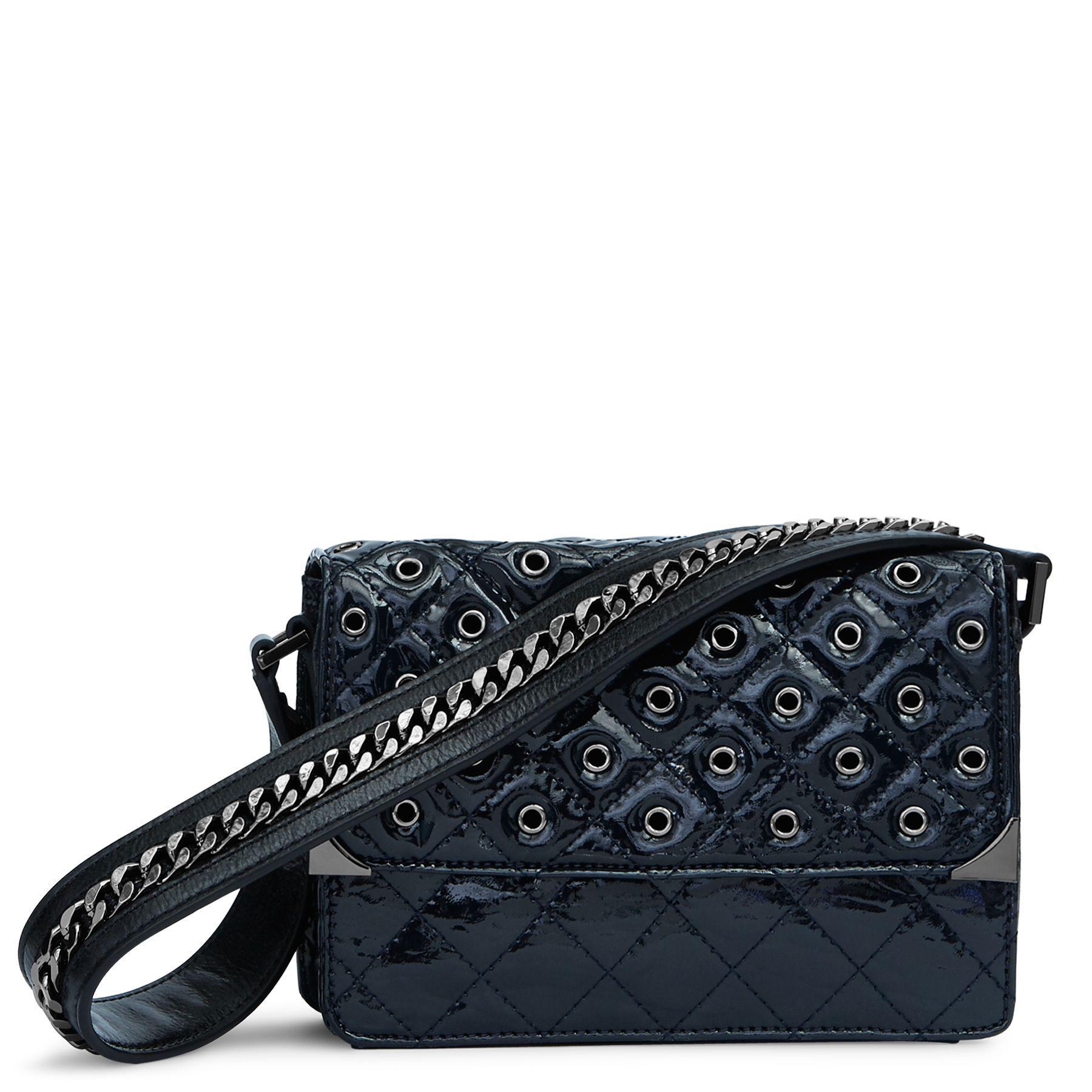 Lyst - Vera Bradley Cole Mini Shoulder Bag in Blue b3760f7a2c