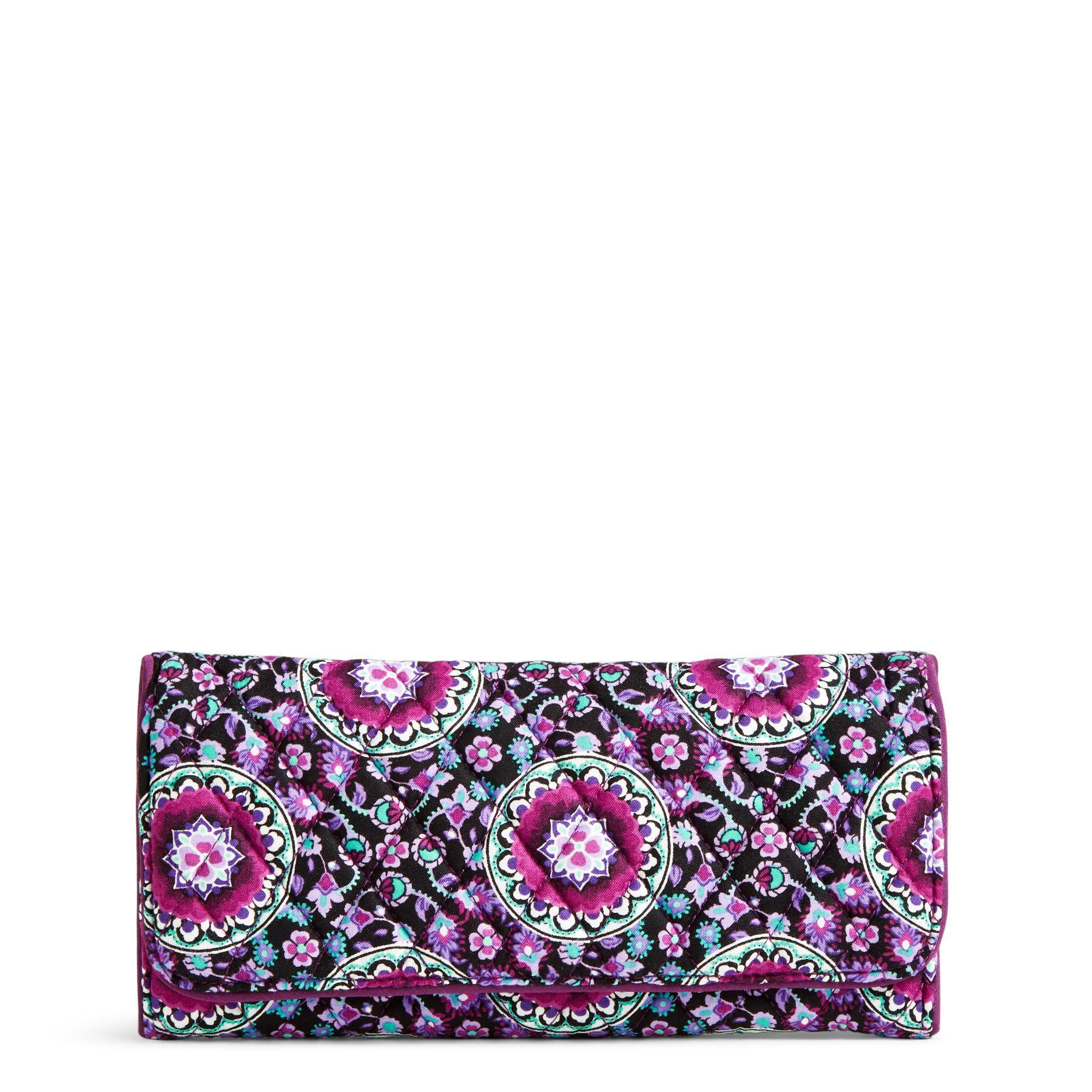 0c3c119d85 Lyst - Vera Bradley Rfid Georgia Wallet in Purple
