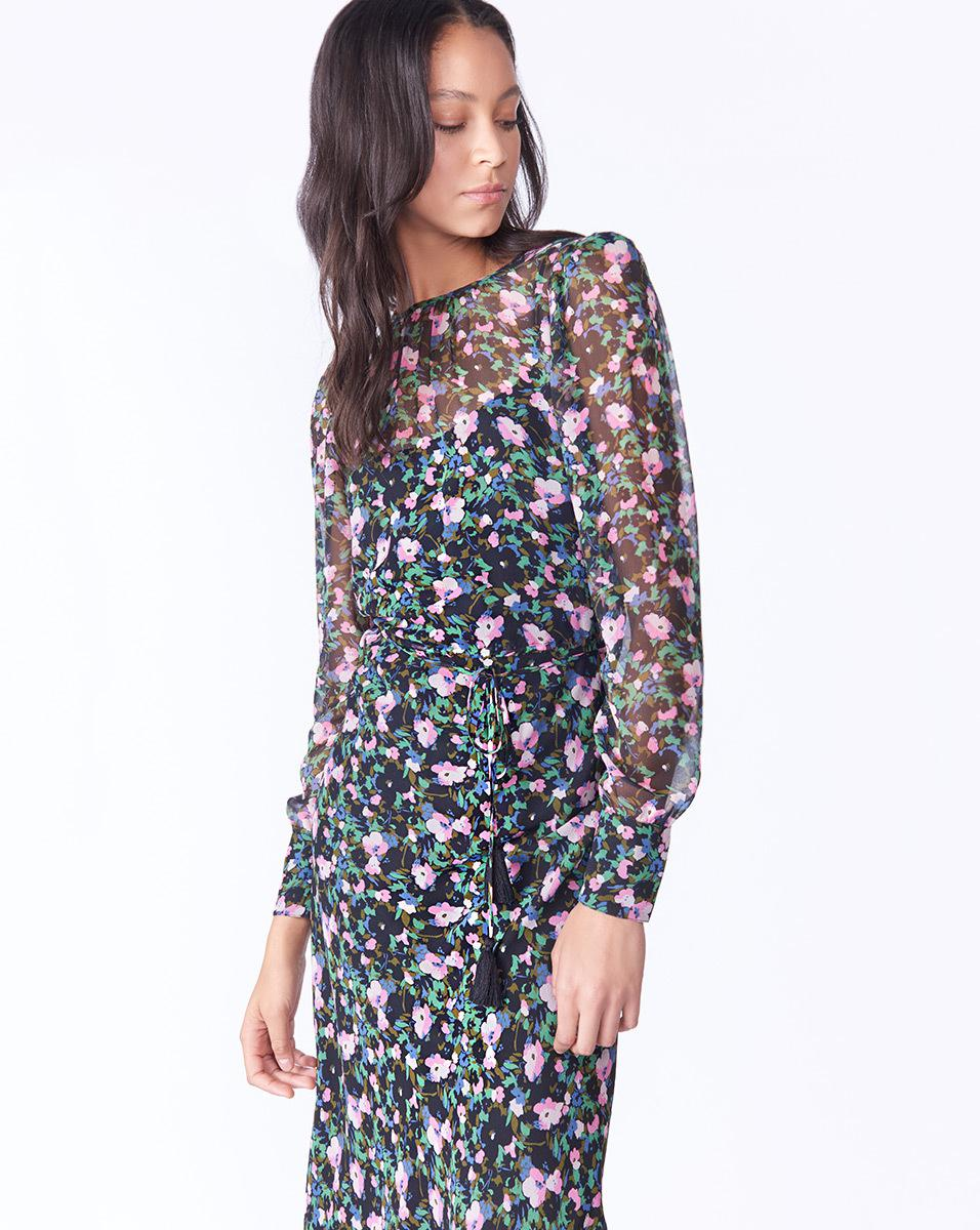 Pay With Visa Cheap Online Tatum dress - Multicolour Veronica Beard Huge Surprise Cheap Price FozRCyx