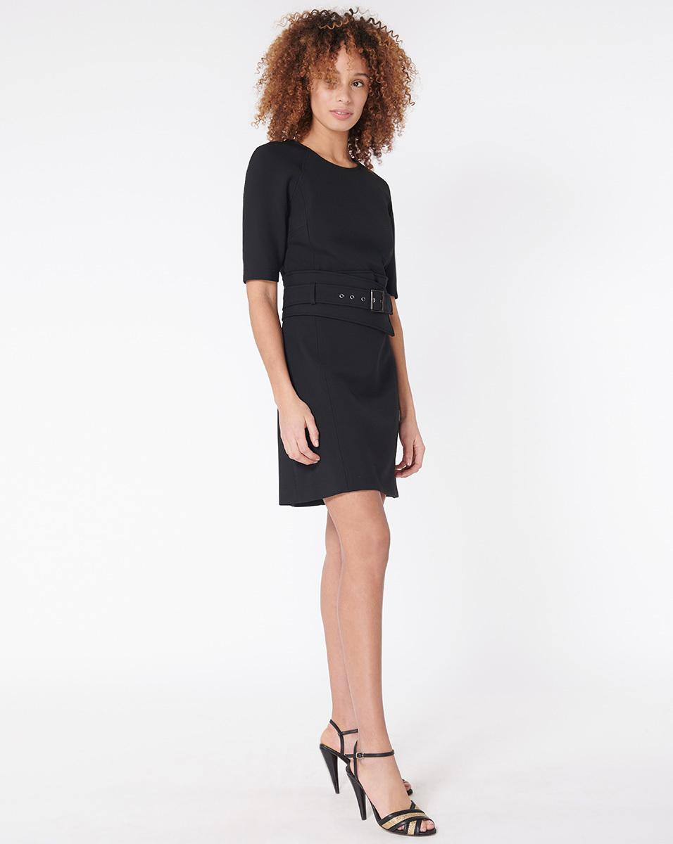 36338030292 Veronica Beard Nora Dress in Black - Lyst
