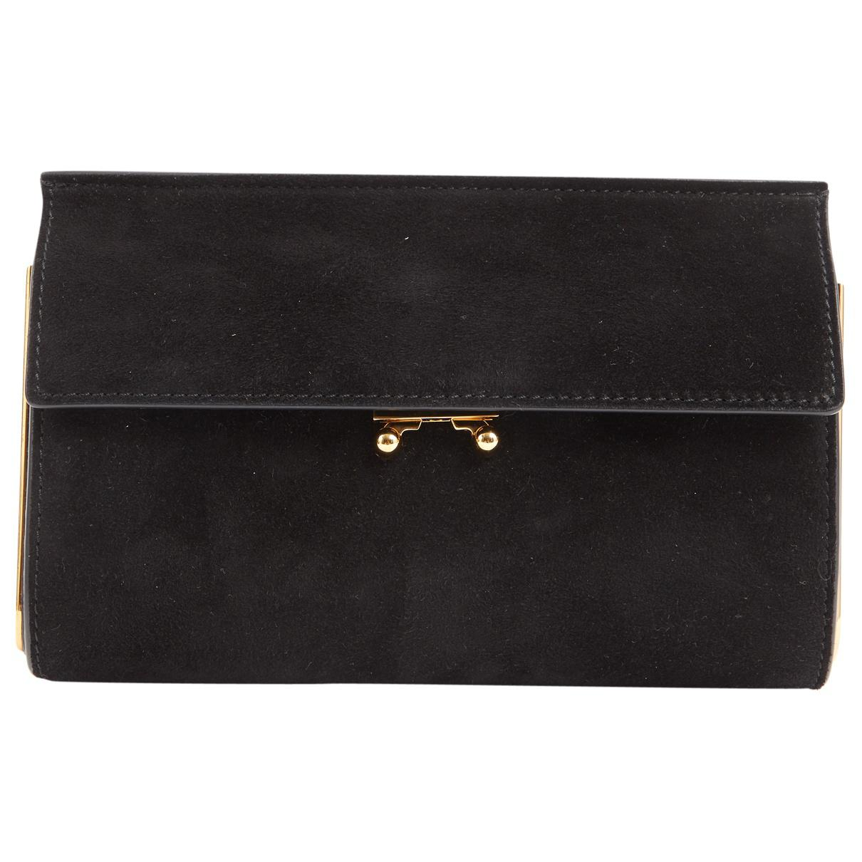 Pre-owned - Patent leather clutch bag Marni 9BlyZPt