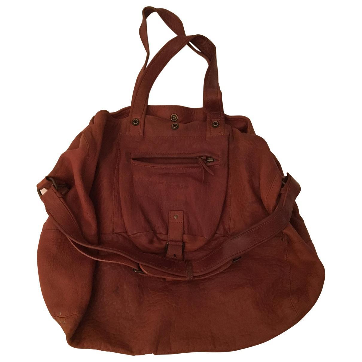 Pre-owned - Leather handbag Jerome Dreyfuss jvMsa1x6Cz