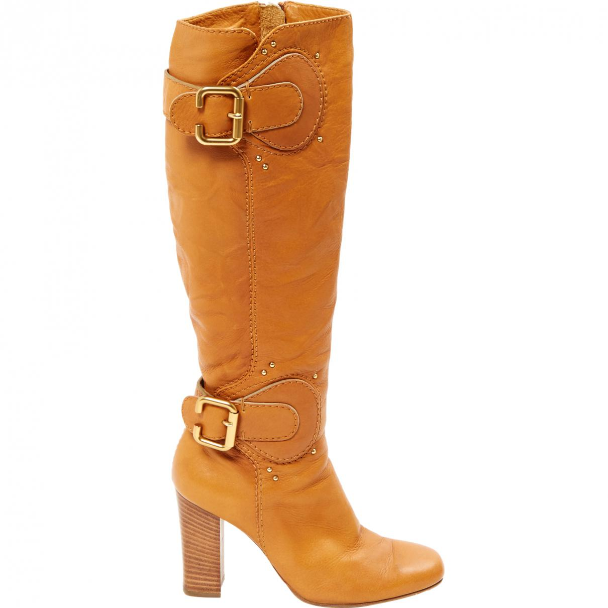 Cheap Sale Pictures With Credit Card For Sale Pre-owned - Leather riding boots Chlo Buy Cheap 2018 New Best Seller Cheap Online ZBjq3J5