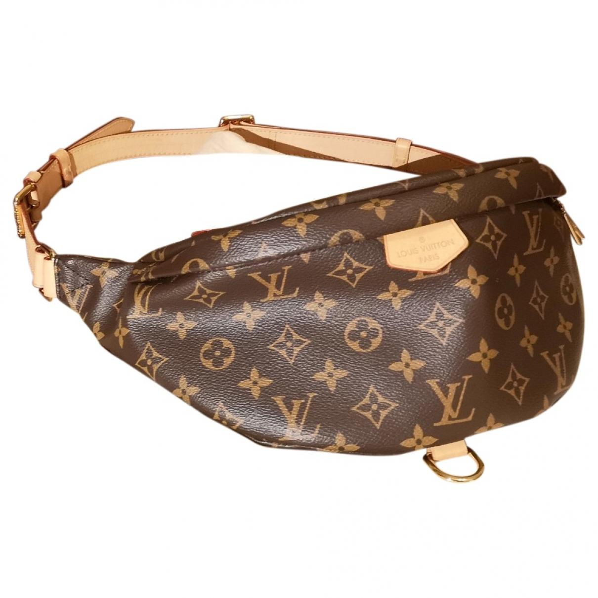 5e7e1781739 Lyst - Pochette Bum Bag   Sac Ceinture en toile Louis Vuitton en ...