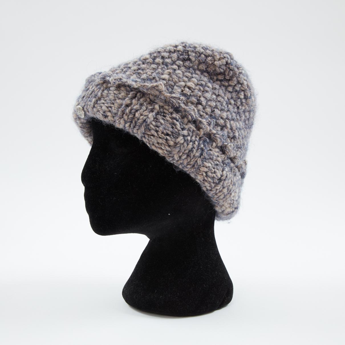47b2681fc92 Lyst - Chanel Grey Wool Hats in Gray