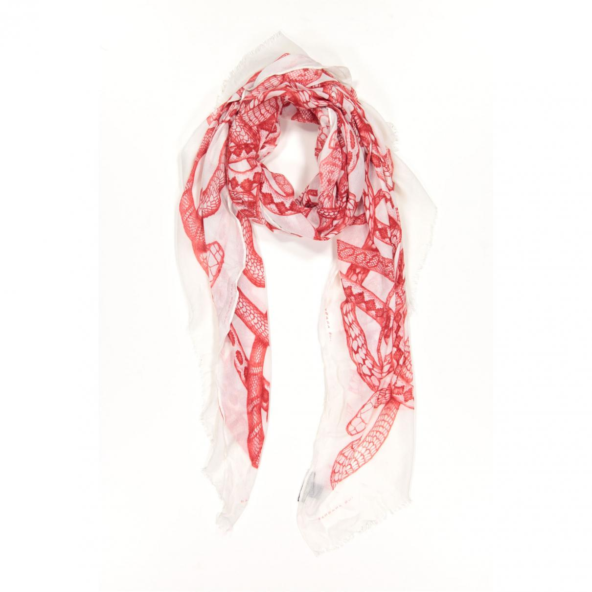 78687976df7 Lyst - Foulard Barbara Bui en coloris Blanc
