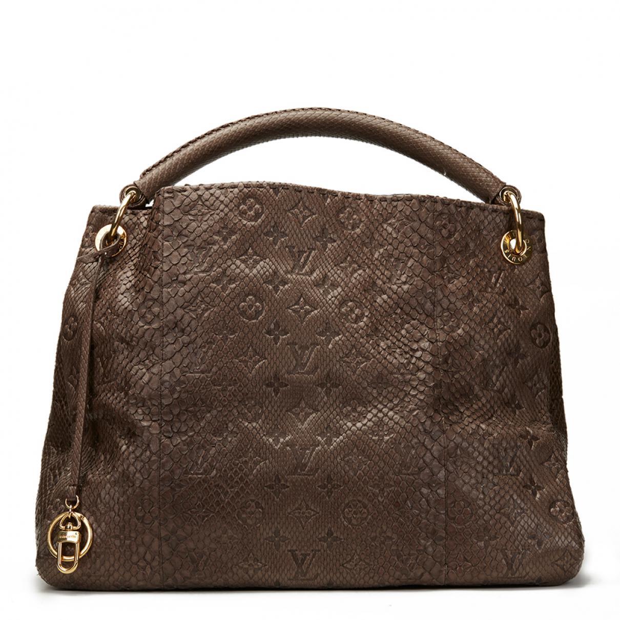 Pre-owned - Python handbag Louis Vuitton gSiMFCn