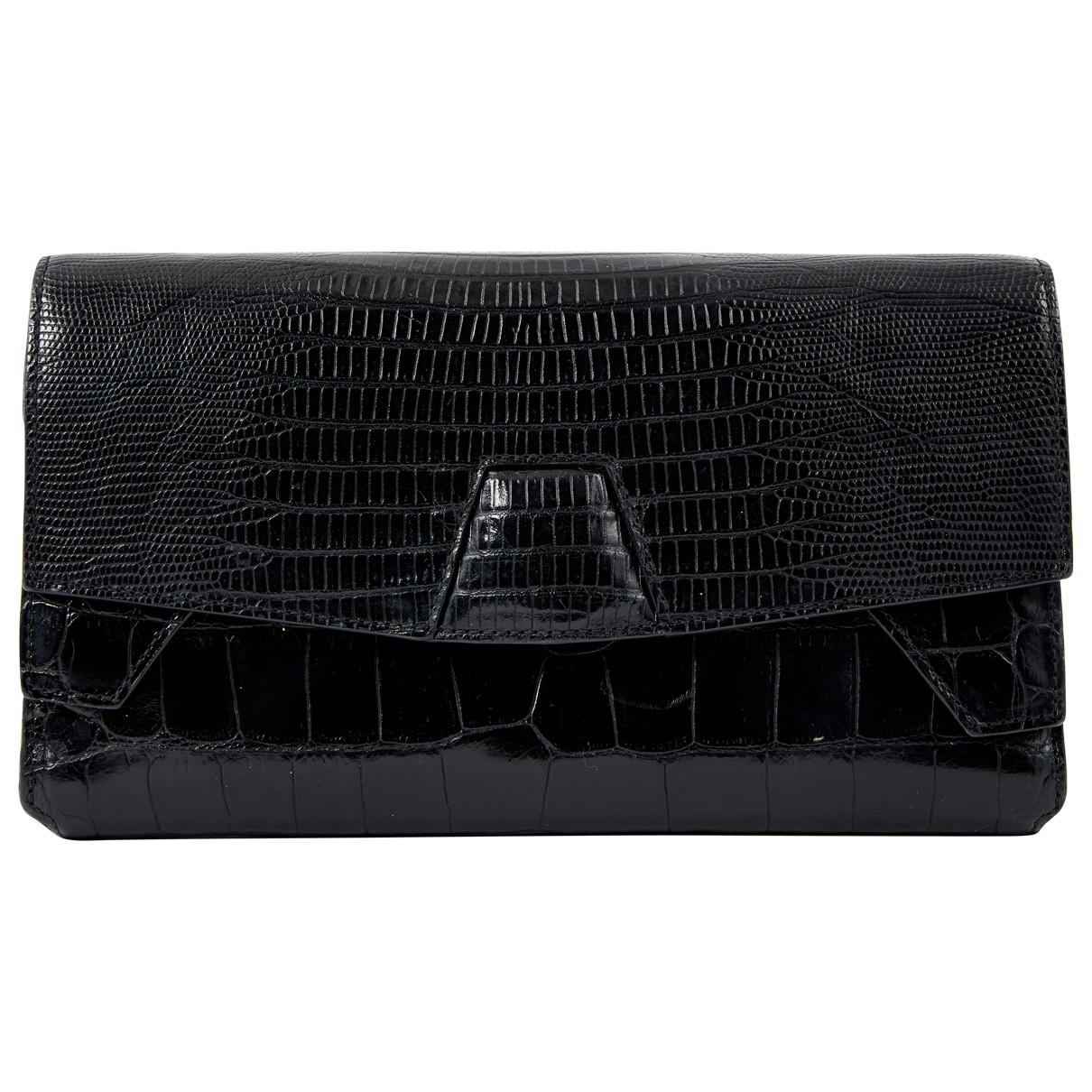 Pre-owned - Leather clutch bag Alexander Wang Uxa1tu0IyQ