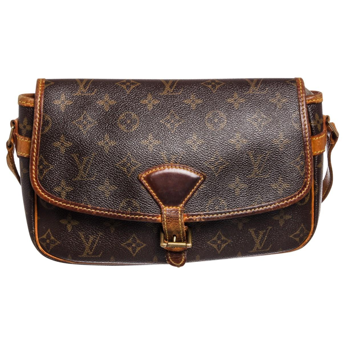 ba37c2aaa963 Louis Vuitton Pre-owned Sologne Leather Crossbody Bag in Brown - Lyst