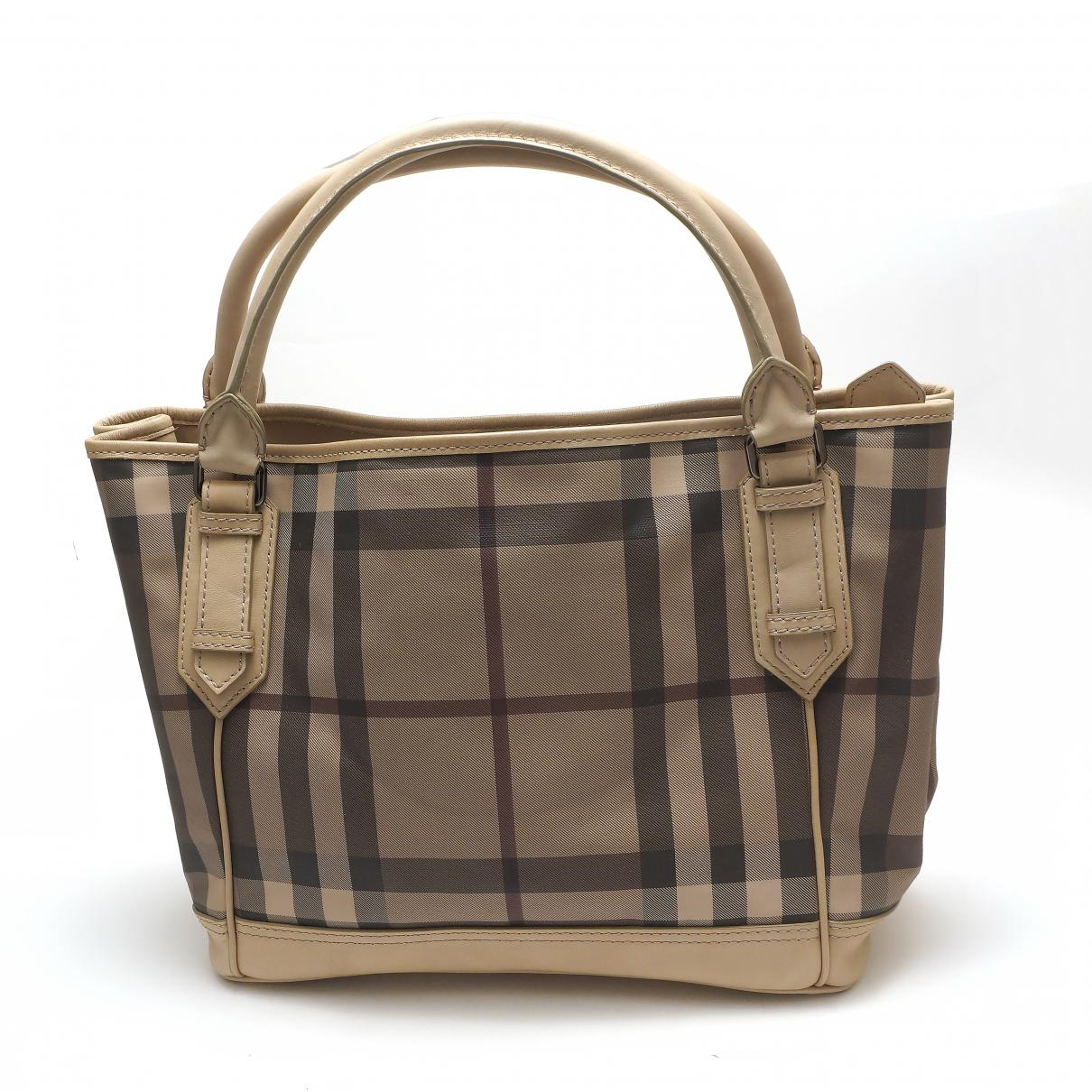 Burberry Women S Pre Owned Cloth Handbag
