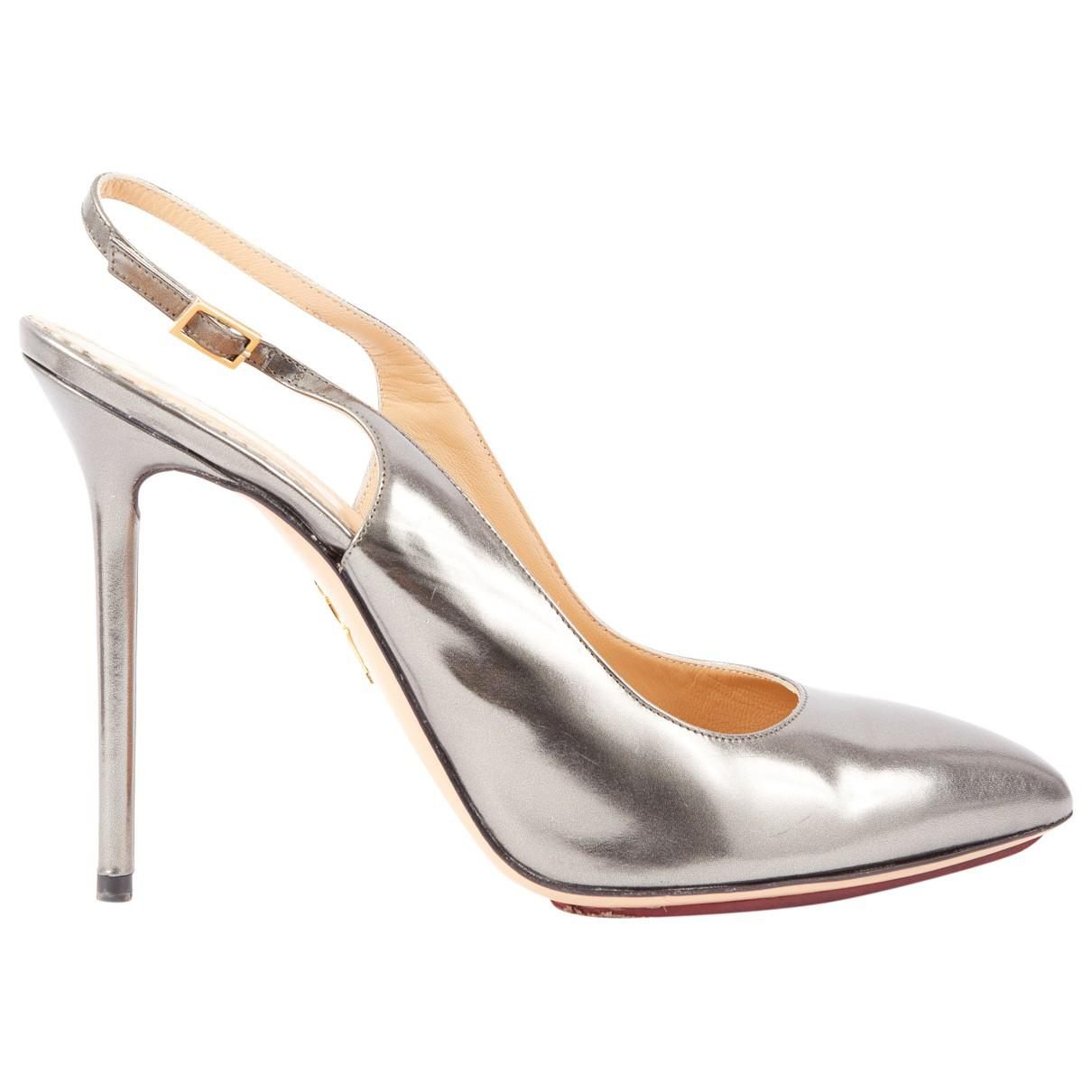 Pre-owned - Patent leather heels Charlotte Olympia Buy Cheap Sast 1sGrzqrnU9
