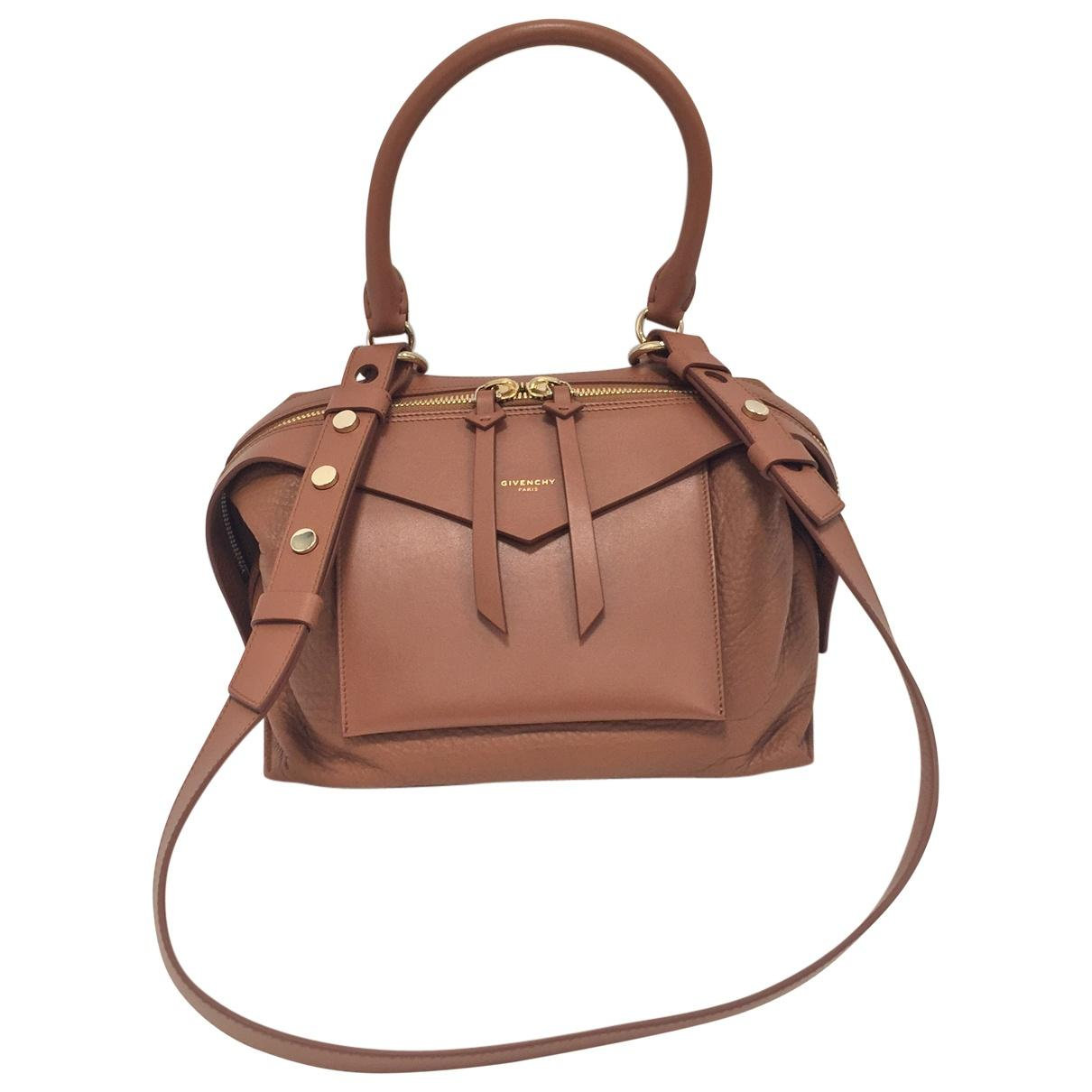 Givenchy Sway Brown Leather Handbag in Brown - Lyst ba2c6cc7807e4