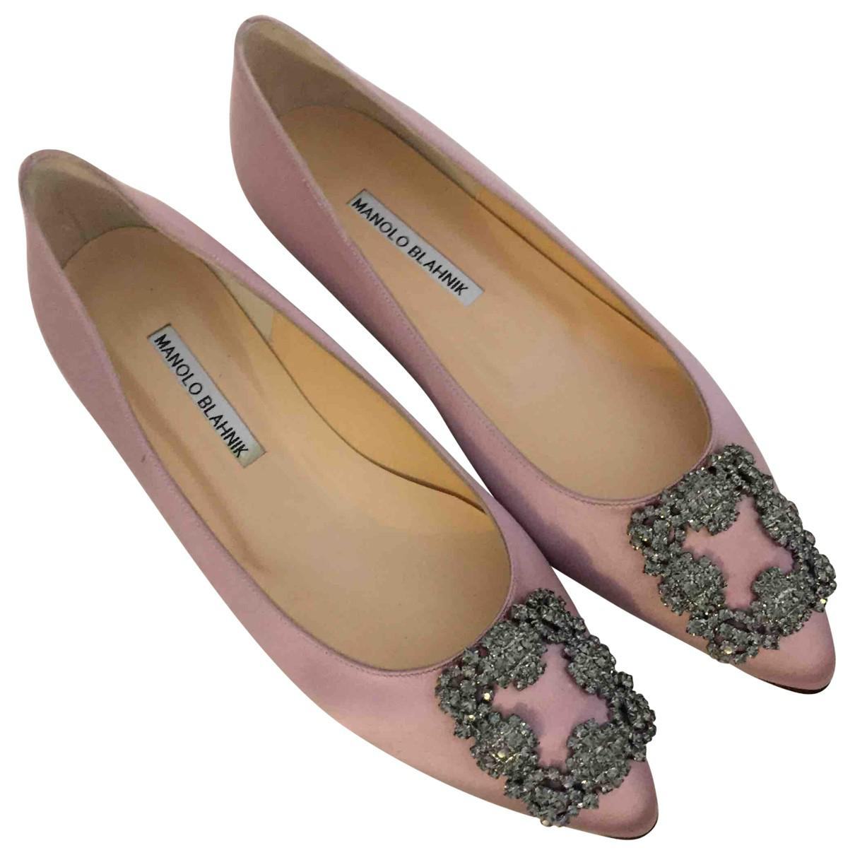Pre-owned - Cloth ballet flats Manolo Blahnik j48gDSuFL
