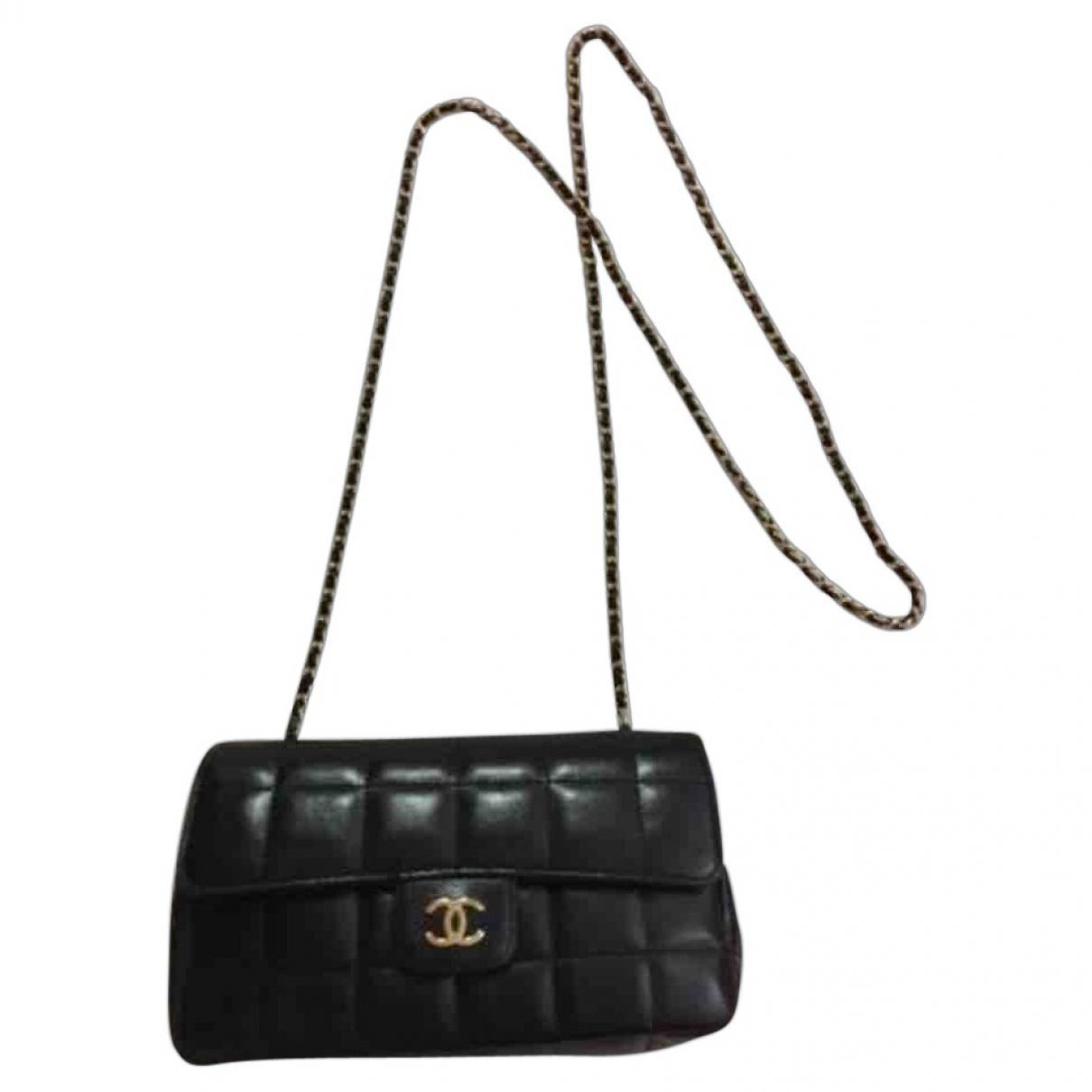 Lyst - Chanel Timeless Leather Crossbody Bag in Black fd5a8eae185
