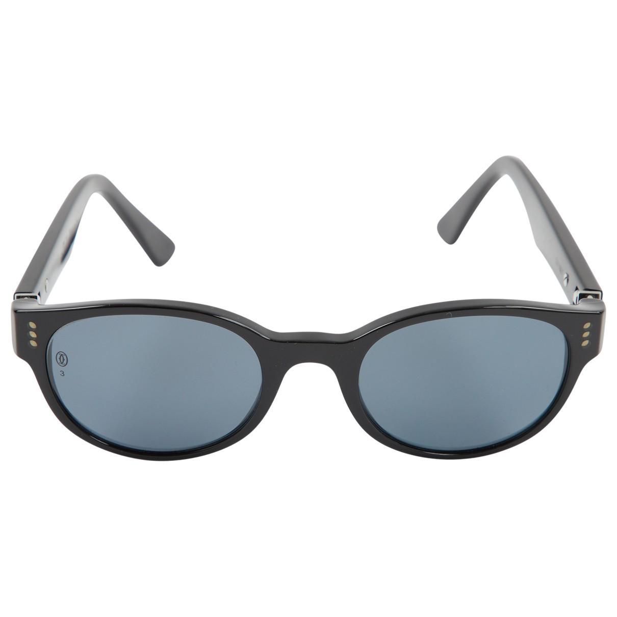 1701e99964d66d Cartier. Women s Black Sunglasses. £245 From Vestiaire Collective