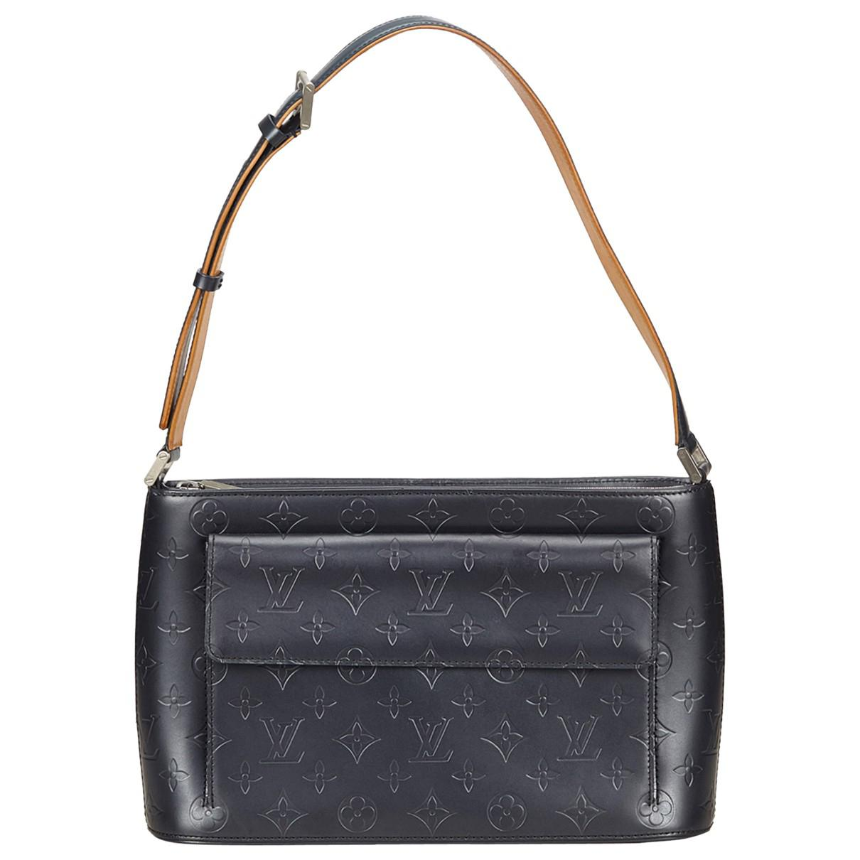36e67566dc3b Lyst - Louis Vuitton Patent Leather Handbag in Black