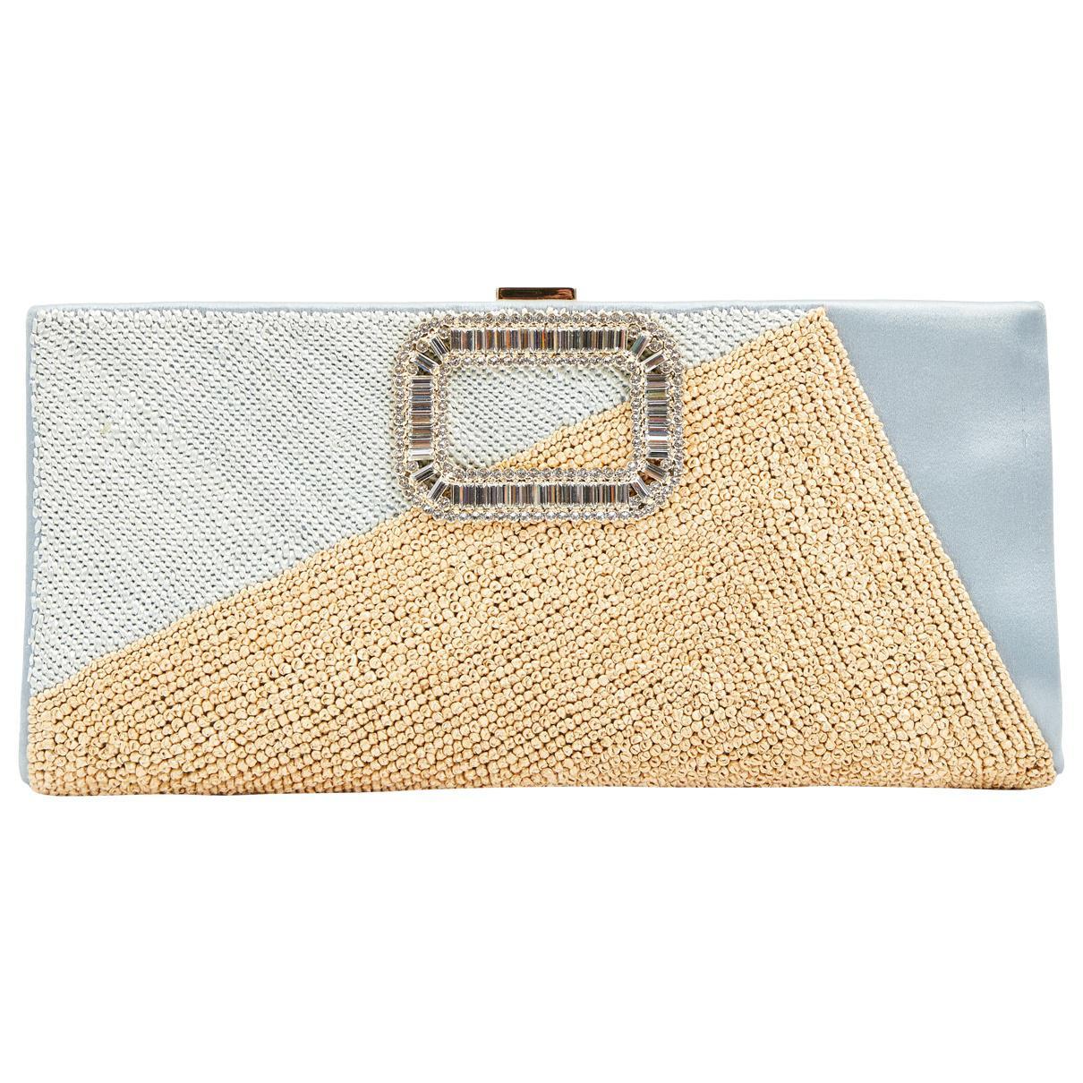 Roger Vivier Pre-owned - Green Cloth Clutch bag Swf3SA