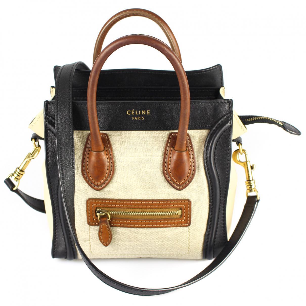 Pre-owned - Cloth crossbody bag Celine WB3s5VMlYw