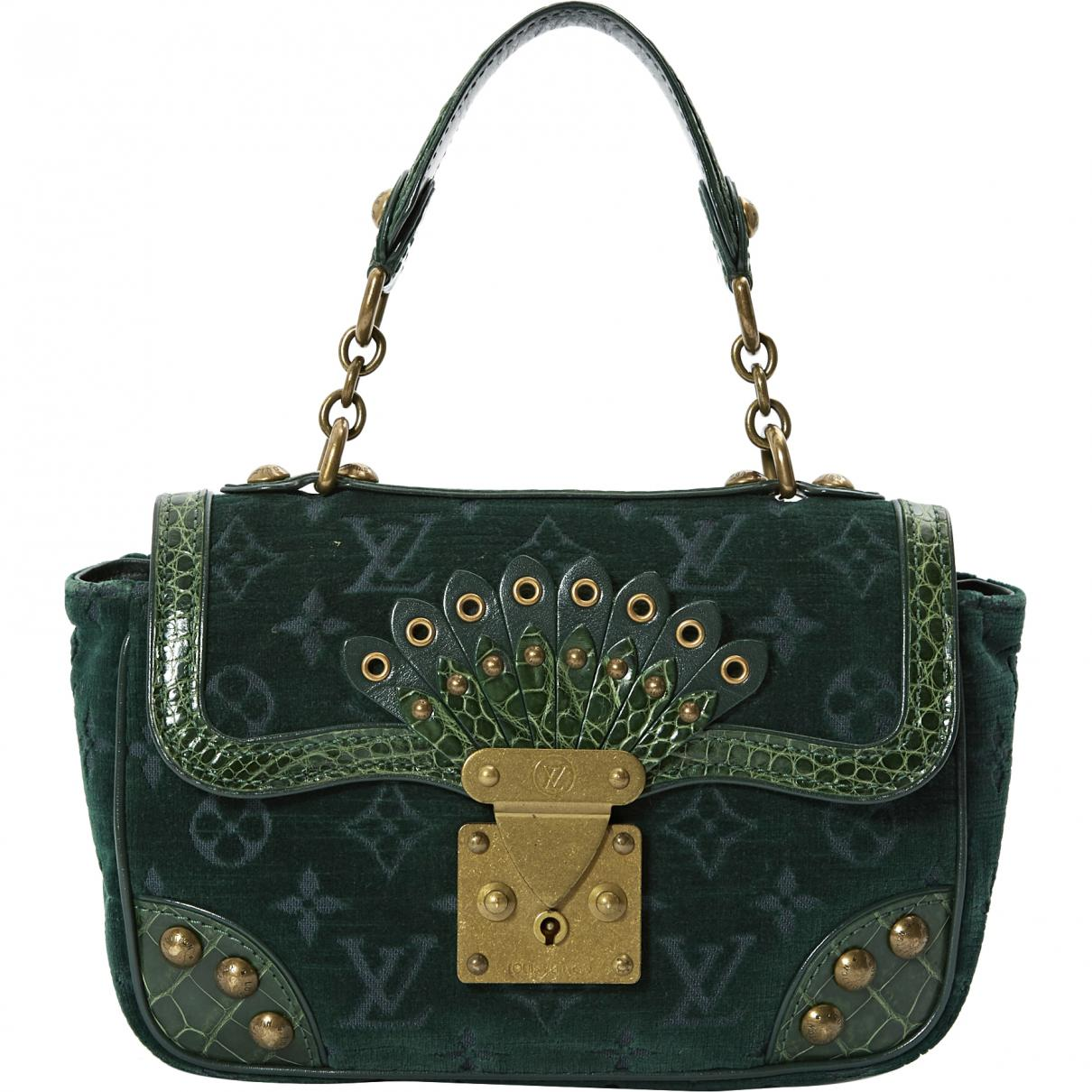 Louis Vuitton Pre-owned - Velvet handbag BjUo6