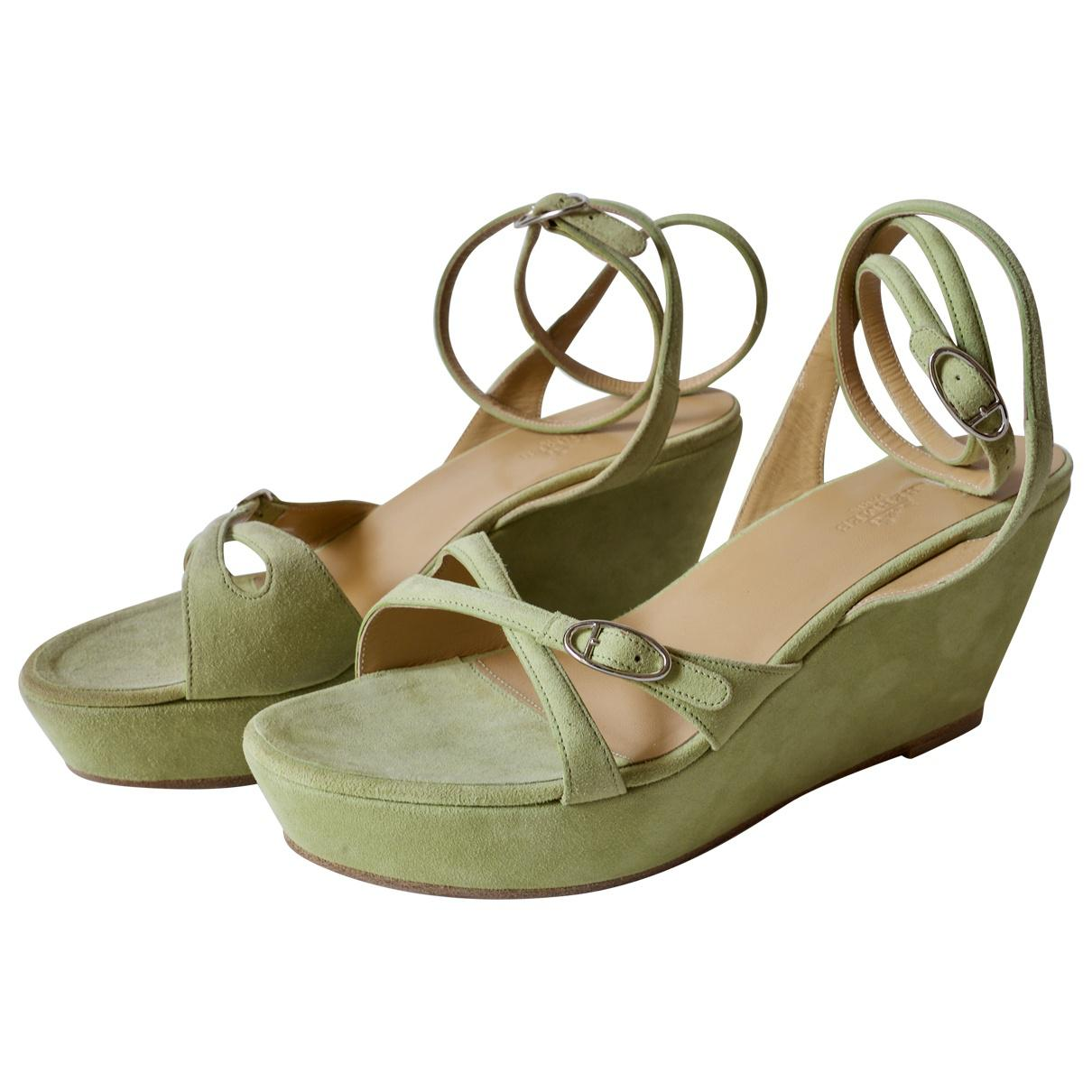 Pre-owned - Sandals Herm 3hxDIzS