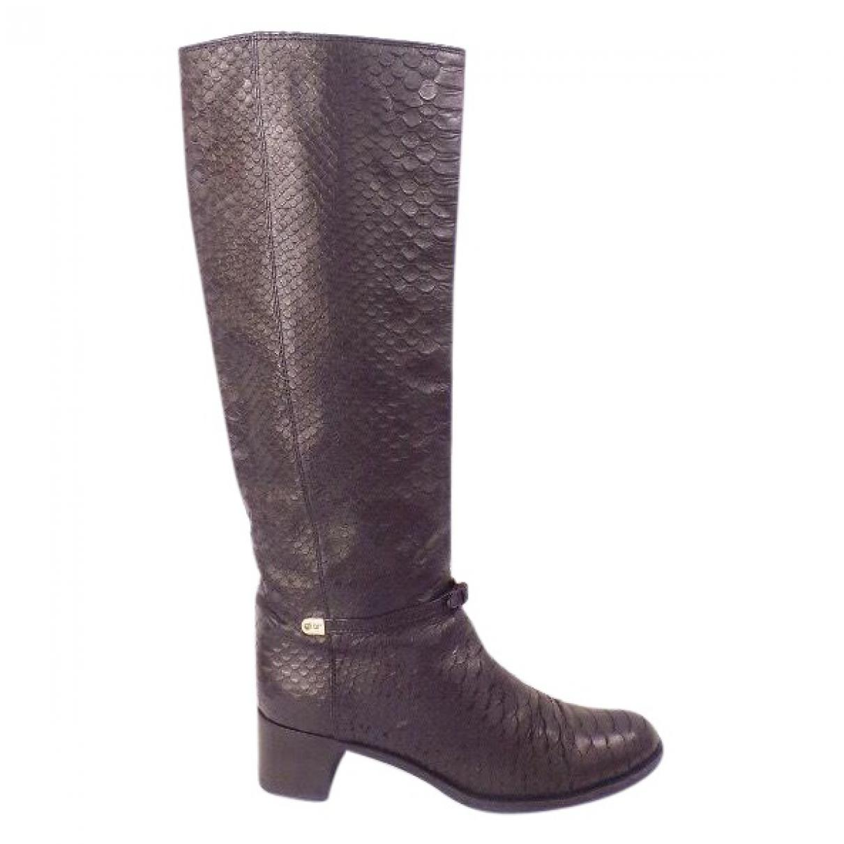 Sergio Rossi High Boots Brodway