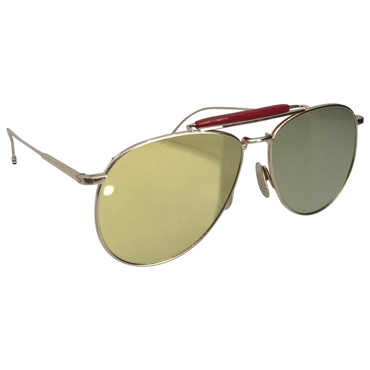 ffff687a714 Lyst - Thom Browne Sunglasses in Metallic for Men
