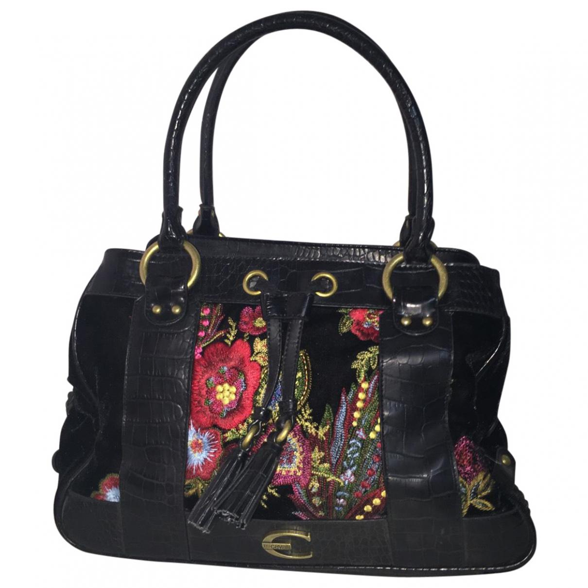 Pre-owned - Leather tote Just Cavalli b4QeW9S5Y