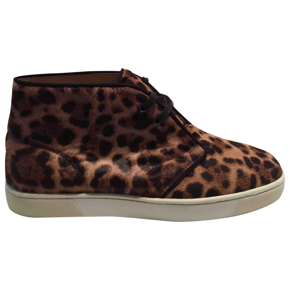 Pre-owned - High trainers Christian Louboutin T6nWxi