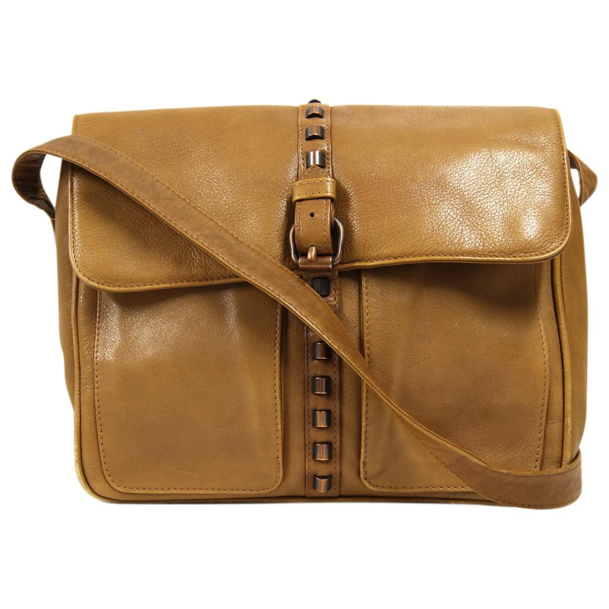 Versace Leather Crossbody Bag in Natural - Lyst 563f2b0270