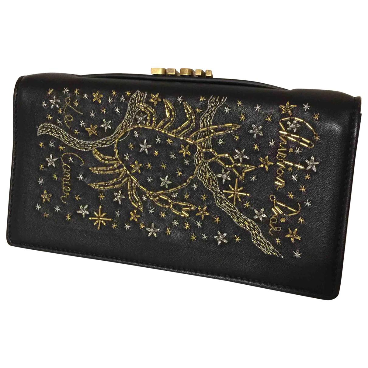Dior Pre-owned - Leather clutch bag 8xm2jpF