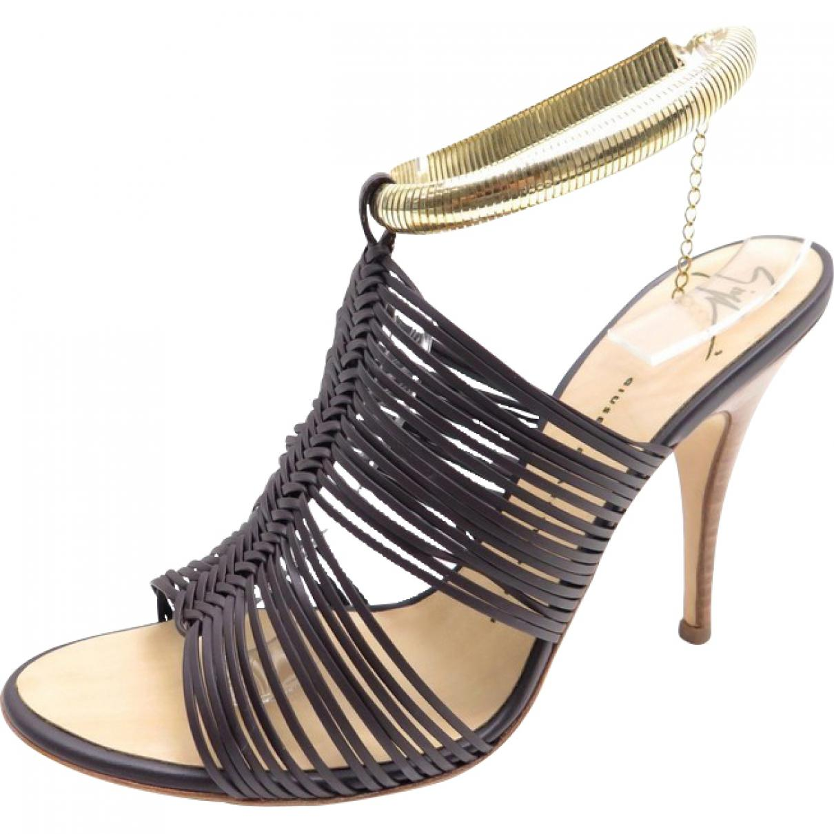 Pre-owned - Leather sandal Giuseppe Zanotti uS8AZ