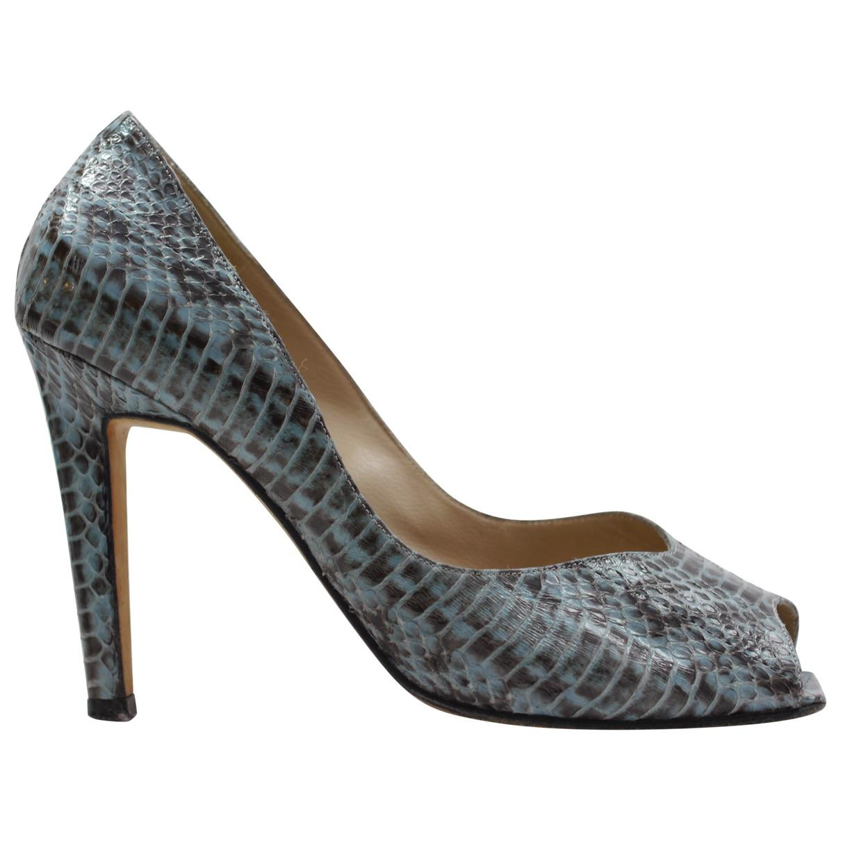 Pre-owned - Python heels Manolo Blahnik HXZZq