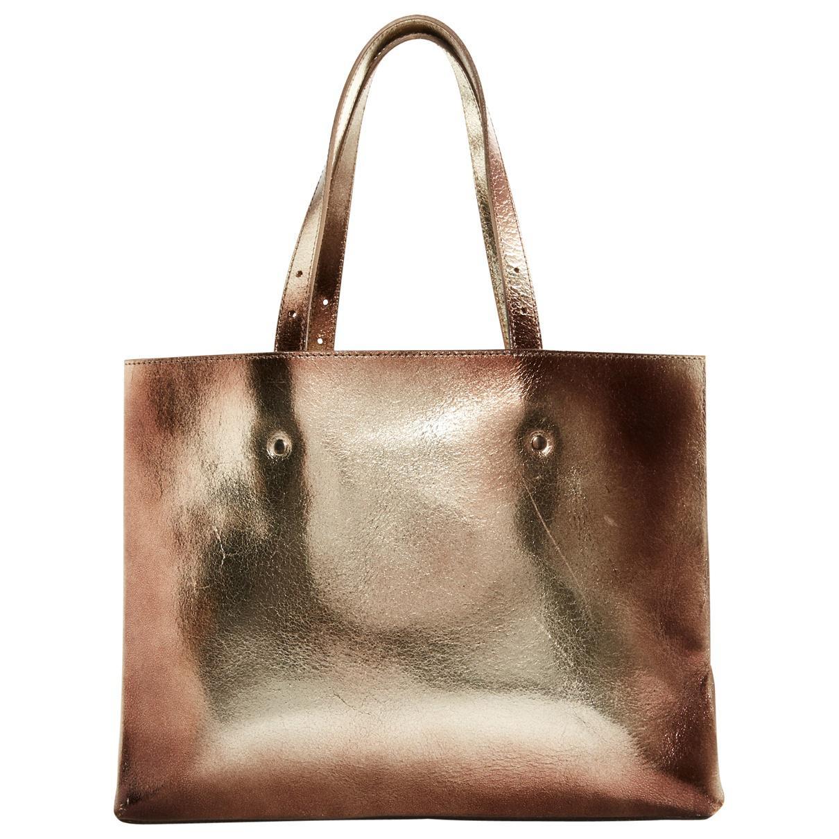 Maison Martin Margiela Pre-owned - Leather handbag 4SOJKCCFC