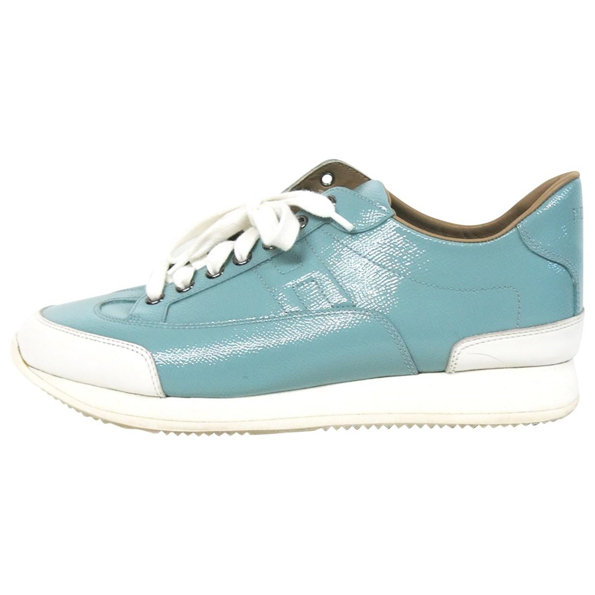 Pre-owned - Leather trainers Prada K5OsdVwI